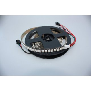 WS2812B RGB-LED-Stripes, 144 LEDs/Meter, Weiß