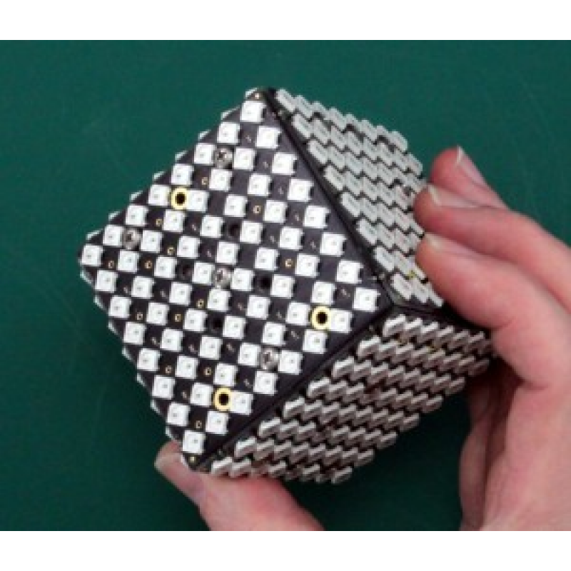 polonium cube der led w rfel bausatz 139 00. Black Bedroom Furniture Sets. Home Design Ideas