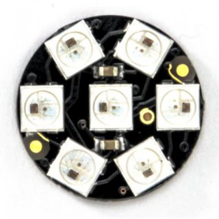 DIGI-DOT Button mit 7 x SK6812 Mini-LEDs