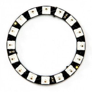 DIGI-DOT Ring mit 16 x SK6812 Mini-LEDs
