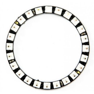 DIGI-DOT Ring mit 24 x SK6812 Mini-LEDs