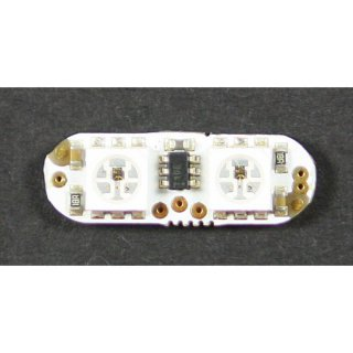 LED-Floh, 2xWS2812, mit ATTiny10, open Source