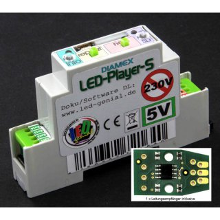 LED-Player-S2, Hutschienen-Version