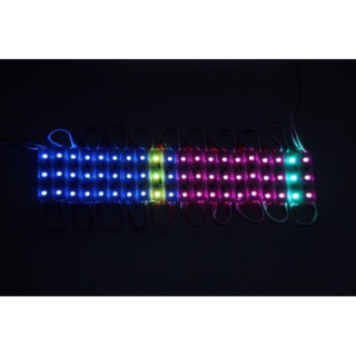 WS2811 RGB LED Array 60 LED, 3 LEDs je Segment, IP67 wasserdicht