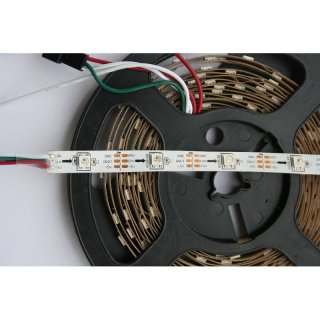 SK6812 RGB-LED-Strip, 30 LEDs/Meter, Weiss